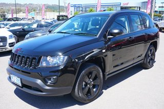 2014 Jeep Compass MK MY14 Blackhawk CVT Auto Stick Black 6 Speed Constant Variable Wagon.