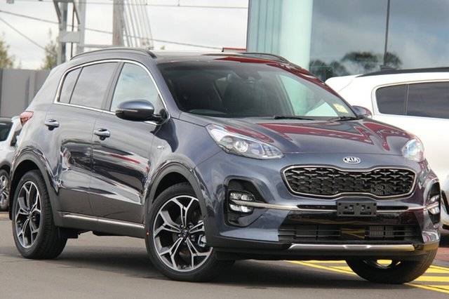 New Kia Sportage QL MY19 GT-Line AWD, 2019 Kia Sportage QL MY19 GT-Line AWD Mercury Blue 6 Speed Sports Automatic Wagon