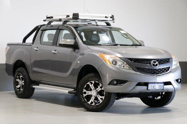 Used Mazda BT-50  GT (4x4), 2012 Mazda BT-50 GT (4x4) Grey 6 Speed Automatic Dual Cab Utility
