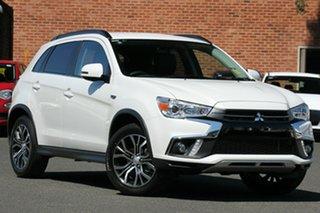 2019 Mitsubishi ASX XC MY19 LS (2WD) Starlight Continuous Variable Wagon.