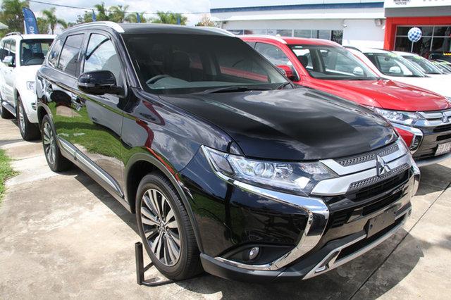 New Mitsubishi Outlander ZL MY19 LS 7 Seat (2WD), 2019 Mitsubishi Outlander ZL MY19 LS 7 Seat (2WD) Black Continuous Variable Wagon