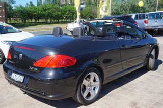 2005 Peugeot 307 T6 CC Dynamic Black 4 Speed Sports Automatic Cabriolet