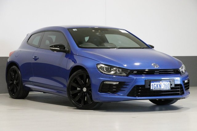 Used Volkswagen Scirocco 1S MY17 R Wolfsburg Edition, 2016 Volkswagen Scirocco 1S MY17 R Wolfsburg Edition Blue 6 Speed Direct Shift Coupe