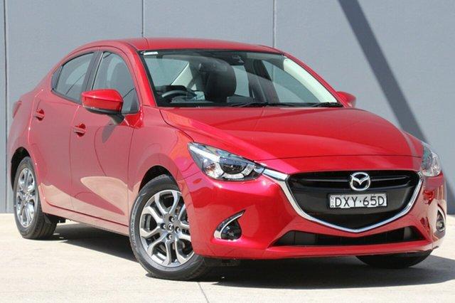 Used Mazda 2 DL2SAA GT SKYACTIV-Drive, 2018 Mazda 2 DL2SAA GT SKYACTIV-Drive Soul Red 6 Speed Sports Automatic Sedan