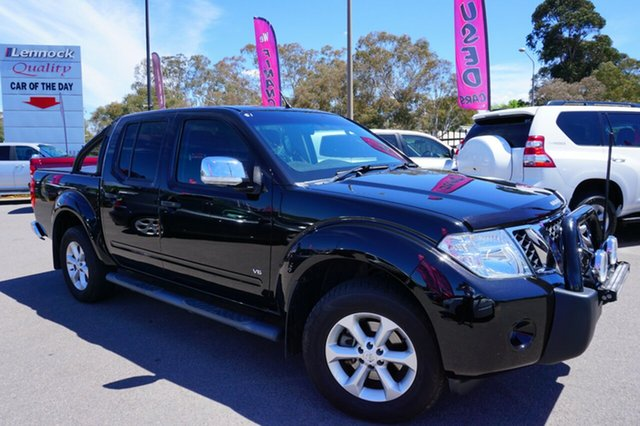 Used Nissan Navara D40 S5 MY12 ST-X Blackline, 2012 Nissan Navara D40 S5 MY12 ST-X Blackline Black 7 Speed Sports Automatic Utility