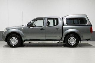 2011 Nissan Navara D40 MY11 RX (4x2) Grey 6 Speed Manual Dual Cab Pick-up