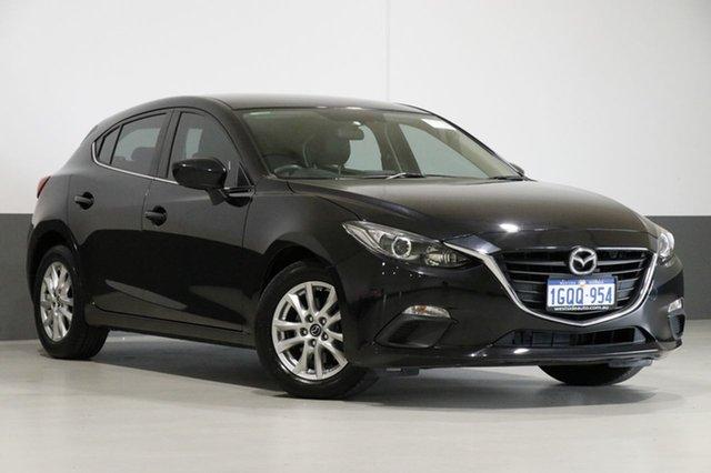 Used Mazda 3 BM Touring, 2014 Mazda 3 BM Touring Black 6 Speed Automatic Hatchback