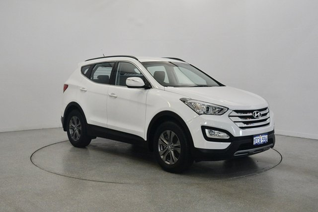 Used Hyundai Santa Fe DM MY13 Active, 2012 Hyundai Santa Fe DM MY13 Active White 6 Speed Sports Automatic Wagon