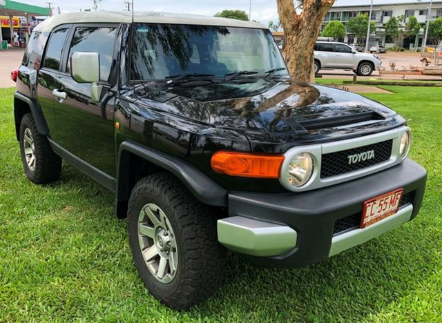 Used Toyota FJ Cruiser GSJ15R MY14 , 2014 Toyota FJ Cruiser GSJ15R MY14 Black 5 Speed Automatic Wagon
