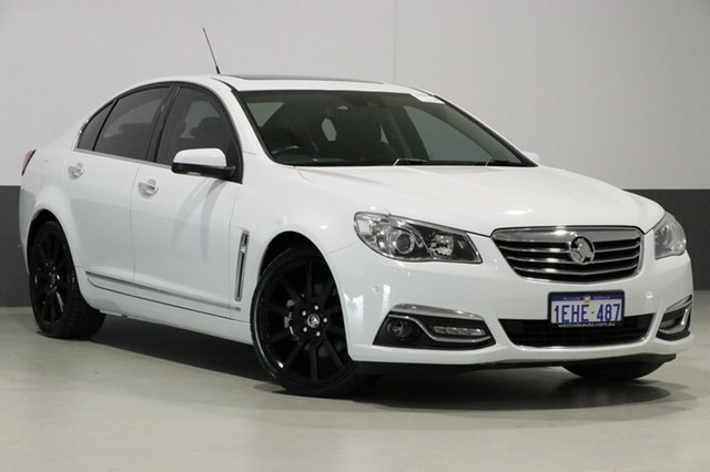 Used Holden Calais VF V, 2013 Holden Calais VF V White 6 Speed Automatic Sedan