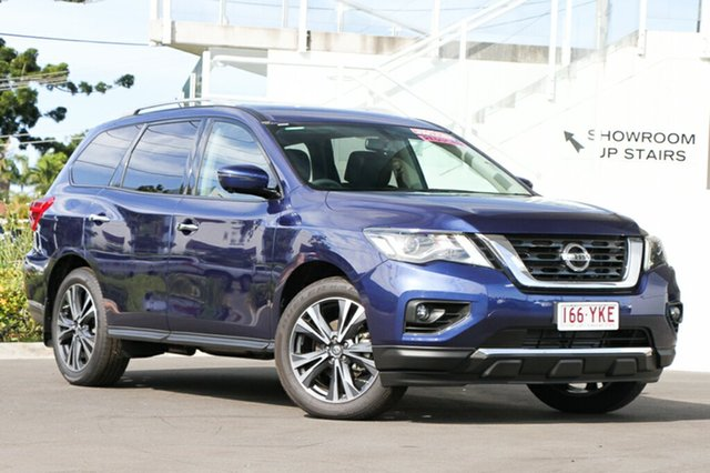 Demo Nissan Pathfinder R52 Series II MY17 Ti X-tronic 4WD, 2017 Nissan Pathfinder R52 Series II MY17 Ti X-tronic 4WD Blue 1 Speed Constant Variable Wagon