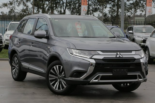 New Mitsubishi Outlander ZL MY19 ES, 2019 Mitsubishi Outlander ZL MY19 ES Titanium 6 Speed Continuous Variable