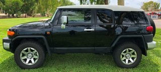 2014 Toyota FJ Cruiser GSJ15R MY14 Black 5 Speed Automatic Wagon