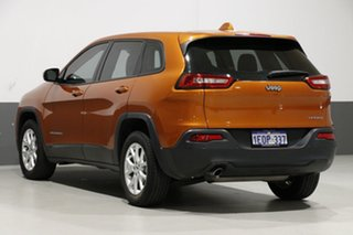 2014 Jeep Cherokee KL Sport (4x2) Orange 9 Speed Automatic Wagon