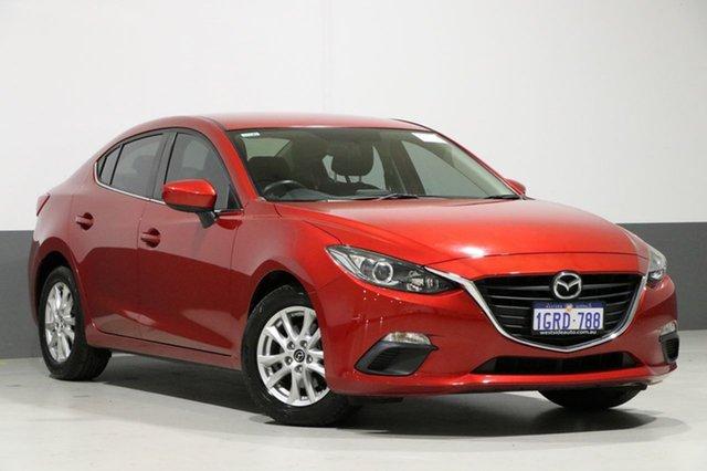 Used Mazda 3 BM Maxx, 2014 Mazda 3 BM Maxx Soul Red 6 Speed Automatic Sedan
