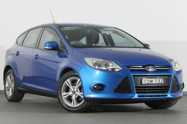 Used Ford Focus LW MKII Trend PwrShift, 2013 Ford Focus LW MKII Trend PwrShift Winning Blue 6 Speed Sports Automatic Dual Clutch Hatchback