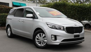 2015 Kia Carnival YP MY15 SI Silver 6 Speed Sports Automatic Wagon.