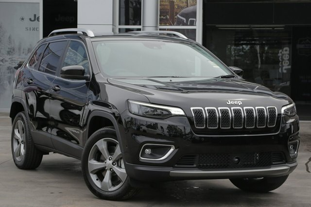 New Jeep Cherokee KL MY19 Limited, 2018 Jeep Cherokee KL MY19 Limited Black 9 Speed Sports Automatic Wagon