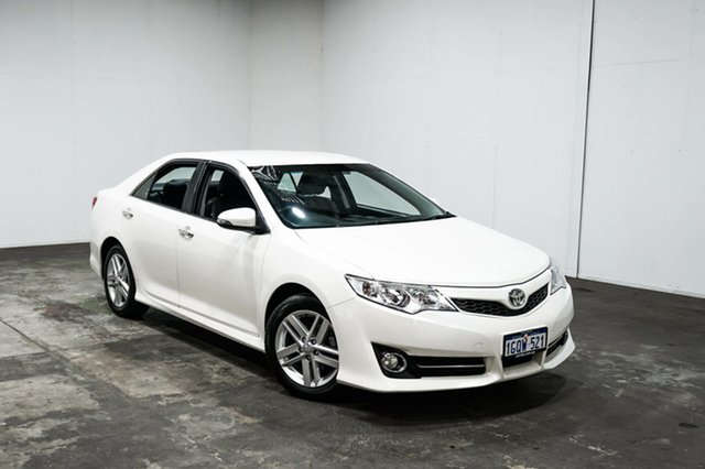 Used Toyota Camry ASV50R Atara R, 2013 Toyota Camry ASV50R Atara R White 6 Speed Sports Automatic Sedan
