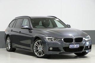 2016 BMW 320i F31 LCI Touring Sport Line Grey 8 Speed Automatic Wagon.