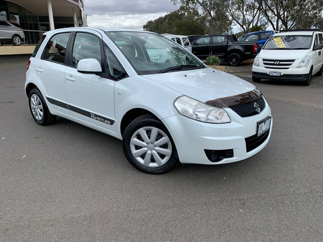 Used Suzuki SX4 GYA MY10 , 2010 Suzuki SX4 GYA MY10 White 6 Speed Manual Hatchback