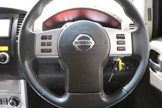2014 Nissan Navara D40 MY12 ST-X (4x4) White 7 Speed Automatic Dual Cab Pick-up