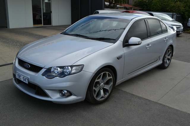 Used Ford Falcon FG XR6 50th Anniversary, 2010 Ford Falcon FG XR6 50th Anniversary Silver 6 Speed Automatic Sedan