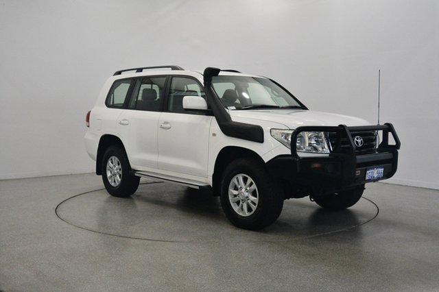 Used Toyota Landcruiser VDJ200R MY10 GXL, 2011 Toyota Landcruiser VDJ200R MY10 GXL White 6 Speed Sports Automatic Wagon