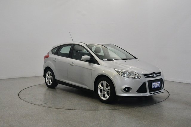 Used Ford Focus LW MKII Trend PwrShift, 2012 Ford Focus LW MKII Trend PwrShift Silver 6 Speed Sports Automatic Dual Clutch Hatchback