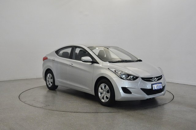 Used Hyundai Elantra MD Active, 2011 Hyundai Elantra MD Active Sleek Silver 6 Speed Manual Sedan