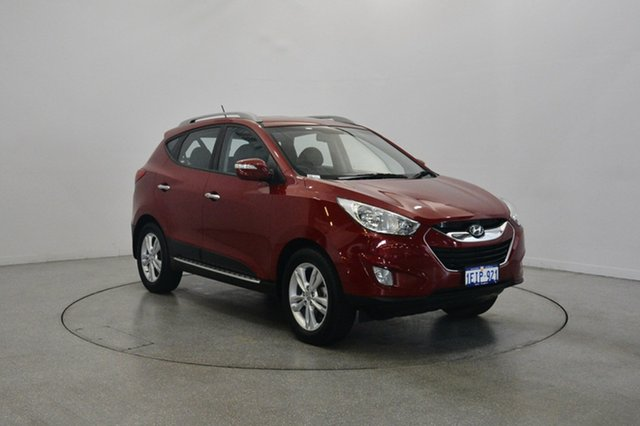 Used Hyundai ix35 LM2 Elite, 2013 Hyundai ix35 LM2 Elite Remington Red 6 Speed Sports Automatic Wagon
