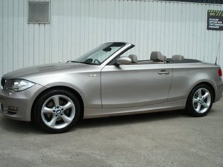 2008 BMW 1 Series E88 120i Kaschmirsilber 6 Speed Automatic Convertible