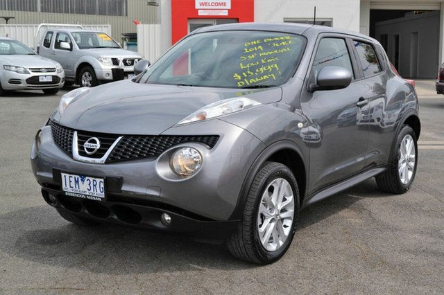 Used Nissan Juke ST , 2014 Nissan Juke ST F15 Grey 5 Speed Manual Hatchback
