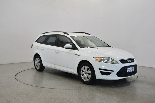 Used Ford Mondeo MC LX PwrShift TDCi, 2012 Ford Mondeo MC LX PwrShift TDCi White 6 Speed Sports Automatic Dual Clutch Wagon