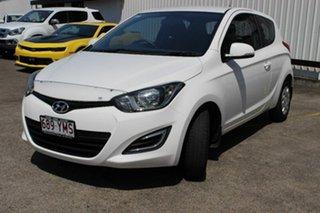 2014 Hyundai i20 PB MY15 Active White 6 Speed Manual Hatchback.