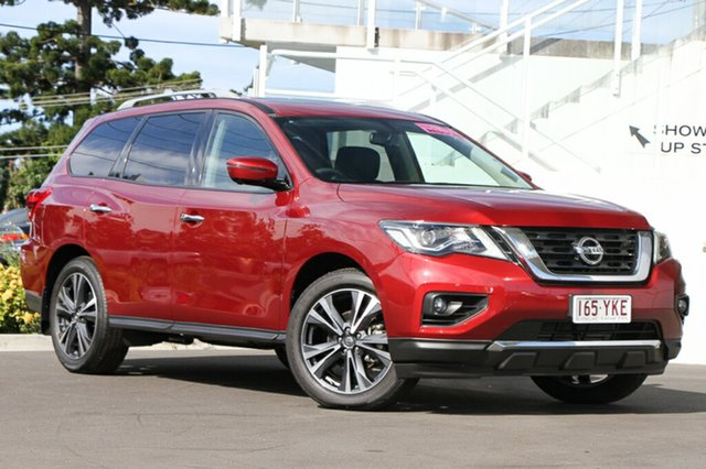 Demo Nissan Pathfinder R52 Series II MY17 Ti X-tronic 2WD, 2017 Nissan Pathfinder R52 Series II MY17 Ti X-tronic 2WD Cayenne Red 1 Speed Constant Variable
