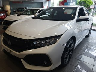 2018 Honda Civic MY18 CIVIC 5A VTI-L MY18 White Orchid Hatchback.