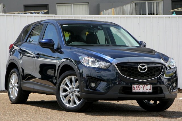 Used Mazda CX-5 KE1031 MY13 Akera SKYACTIV-Drive AWD, 2013 Mazda CX-5 KE1031 MY13 Akera SKYACTIV-Drive AWD Blue 6 Speed Sports Automatic Wagon