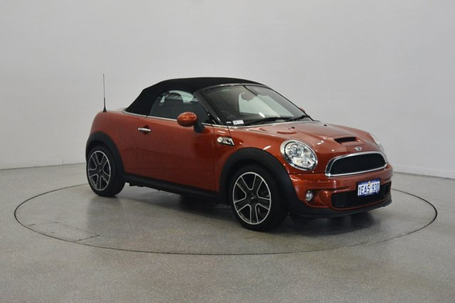 Used Mini Coupe R58 Cooper S, 2012 Mini Coupe R58 Cooper S Orange 6 Speed Sports Automatic Coupe