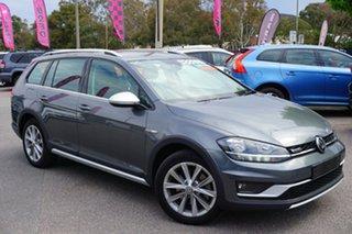 2017 Volkswagen Golf 7.5 MY18 Alltrack DSG 4MOTION 132TSI Grey 6 Speed Sports Automatic Dual Clutch.