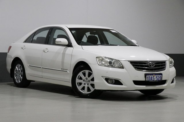 Used Toyota Aurion GSV40R Prodigy, 2007 Toyota Aurion GSV40R Prodigy White 6 Speed Auto Sequential Sedan