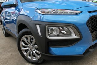 2018 Hyundai Kona OS.2 MY19 Go 2WD Blue Lagoon 6 Speed Sports Automatic Wagon.