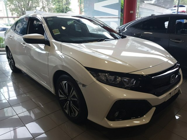 Demo Honda Civic MY18 , 2018 Honda Civic MY18 CIVIC 5A VTI-L MY18 White Orchid Hatchback