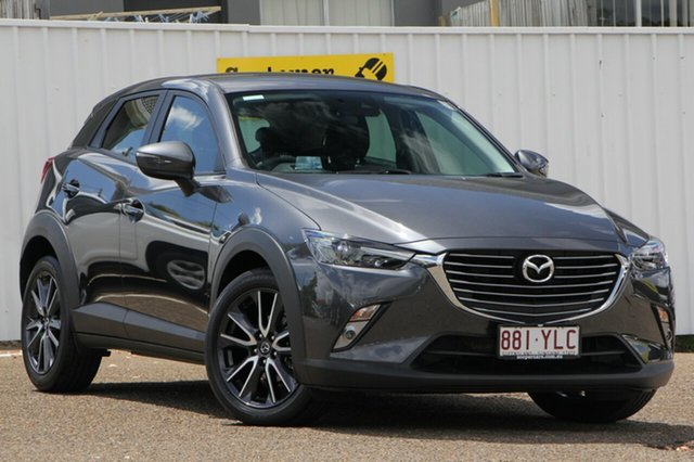 Used Mazda CX-3 DK2W7A sTouring SKYACTIV-Drive, 2017 Mazda CX-3 DK2W7A sTouring SKYACTIV-Drive Grey 6 Speed Sports Automatic Wagon