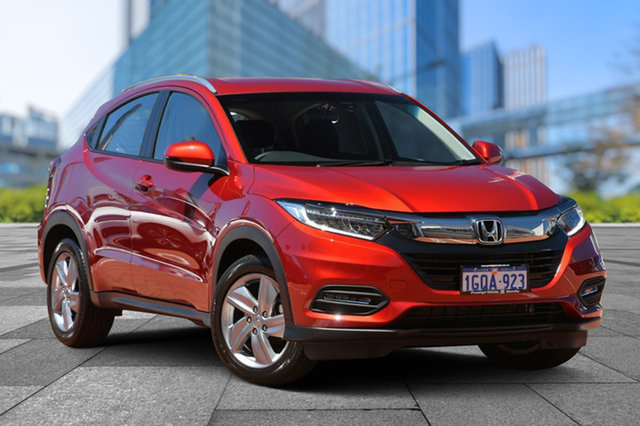Demo Honda HR-V MY18 VTi-S, 2018 Honda HR-V MY18 VTi-S Passion Red 1 Speed Constant Variable Hatchback