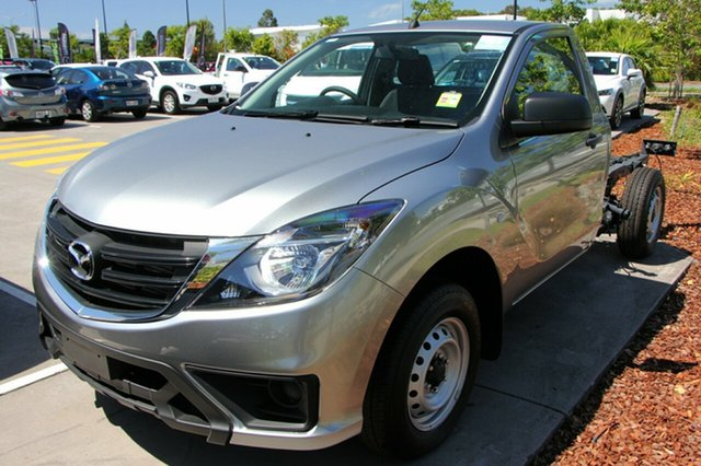 New Mazda BT-50 UR0YE1 XT 4x2, 2018 Mazda BT-50 UR0YE1 XT 4x2 Aluminium 6 Speed Manual Cab Chassis