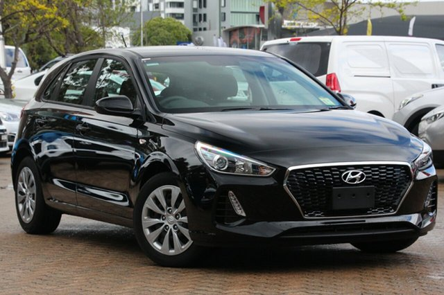 New Hyundai i30 PD MY19 Go, 2019 Hyundai i30 PD MY19 Go Phantom Black 6 Speed Sports Automatic Hatchback