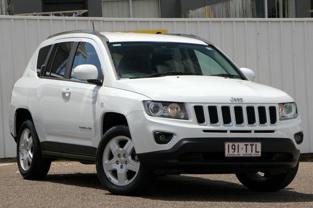 Used Jeep Compass MK MY14 North, 2013 Jeep Compass MK MY14 North White 6 Speed Sports Automatic Wagon