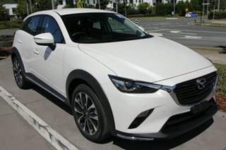 2020 Mazda CX-3 DK2W7A sTouring SKYACTIV-Drive FWD Snowflake White 6 Speed Sports Automatic Wagon.