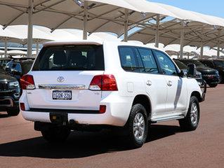 2012 Toyota Landcruiser VDJ200R MY12 GXL (4x4) White 6 Speed Automatic Wagon